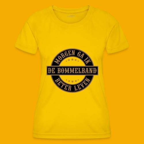 bb logo rond shirt - Functioneel T-shirt voor vrouwen