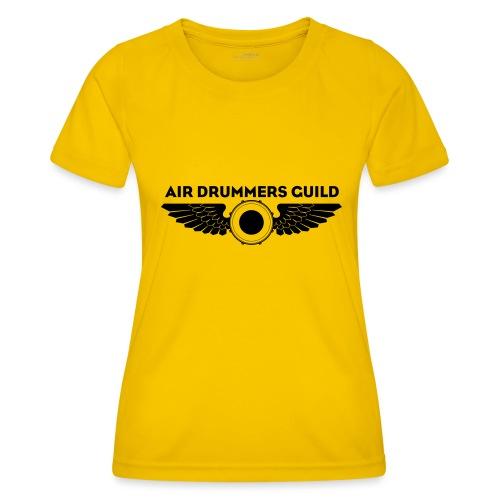 ADG Drum'n'Wings Emblem - Women's Functional T-Shirt