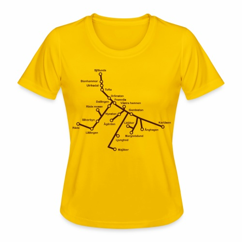 Lisch Tisch Hoods - Funktions-T-shirt dam