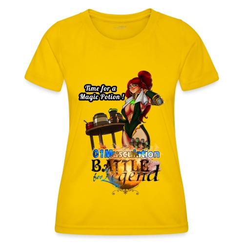 Mythrilisatrice- Battle for Legend X 01Musculation - T-shirt sport Femme