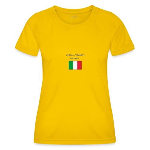 Włosko-polska - Funkcjonalna koszulka damska