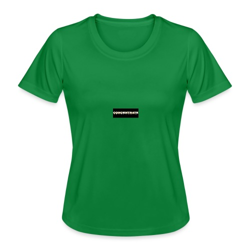 Concentrate on black - Women's Functional T-Shirt
