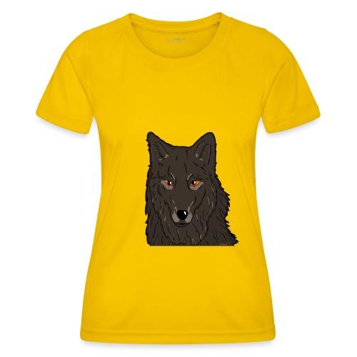 HikingMantis Wolf png - Funktionsshirt til damer