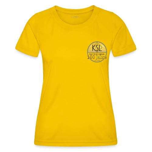 KS Logo 100 J - Frauen Funktions-T-Shirt