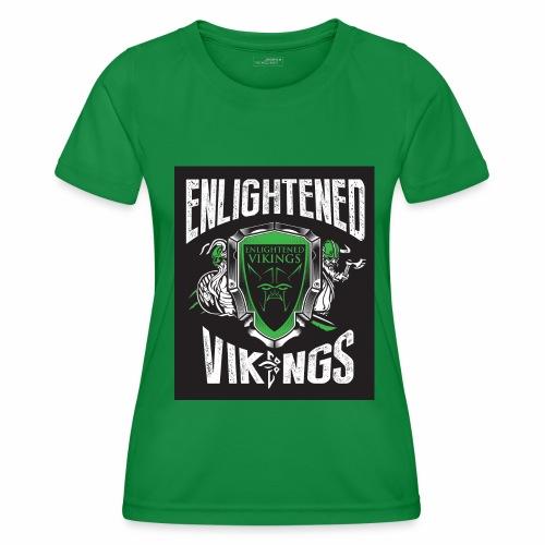 Enlightend Vikings - Funksjons-T-skjorte for kvinner
