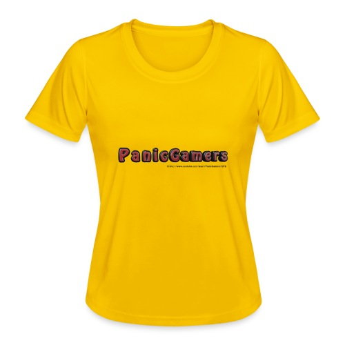 Cover PanicGamers - Maglietta sportiva per donna