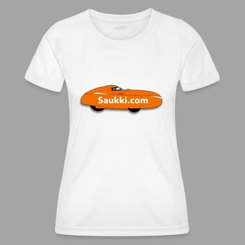 Saukki.com - Naisten tekninen t-paita