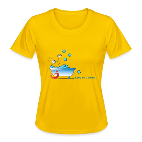 Keep on Cooling Original - Frauen Funktions-T-Shirt