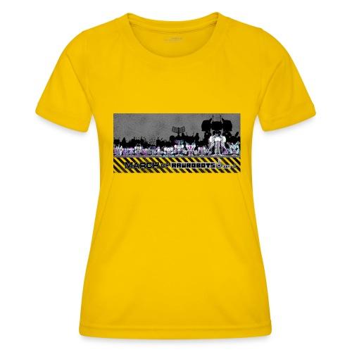 #MarchOfRobots ! LineUp Nr 2 - Funktionsshirt til damer