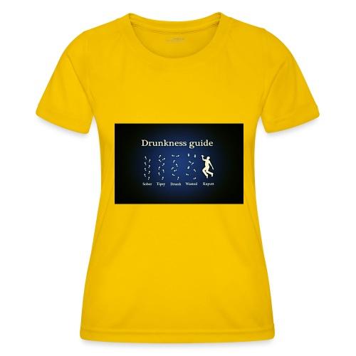 DRUNK - Functioneel T-shirt voor vrouwen