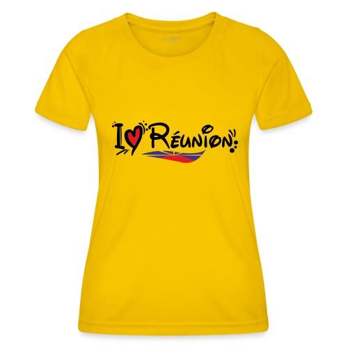 i love Réunion - MAHAVELI - T-shirt sport Femme
