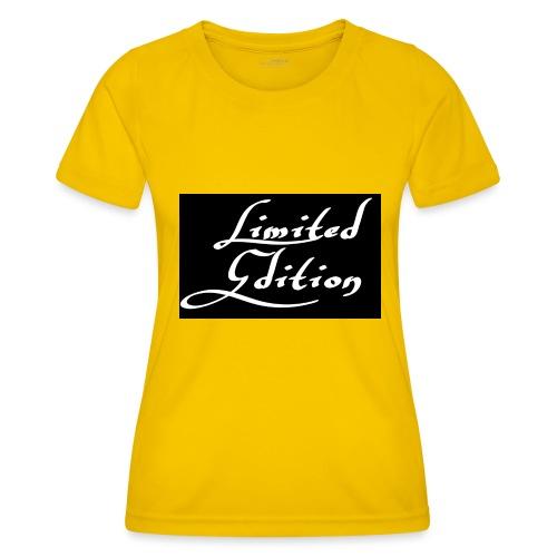 Limited edition - Naisten tekninen t-paita