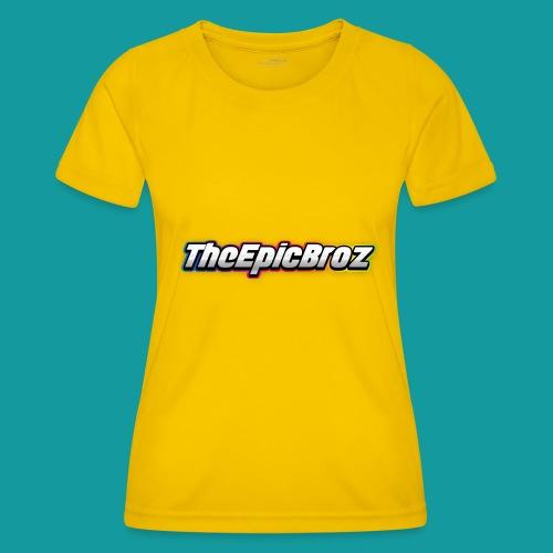 TheEpicBroz - Functioneel T-shirt voor vrouwen