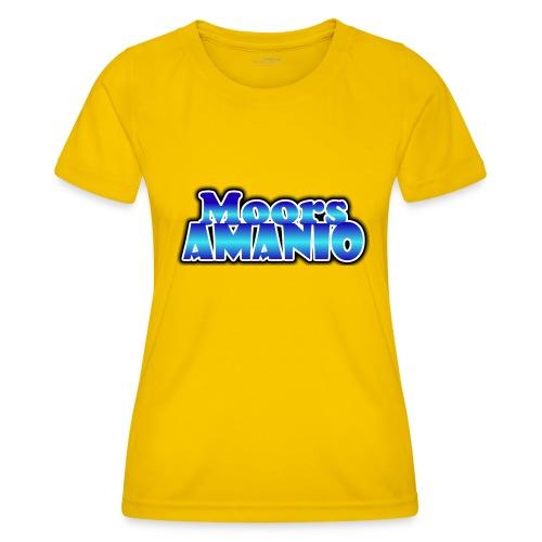 MoorsAmanioLogo - Functioneel T-shirt voor vrouwen
