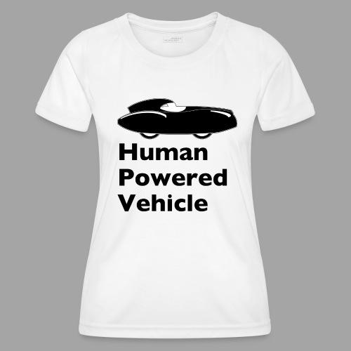 Quattrovelo Human Powered Vehicle black - Naisten tekninen t-paita