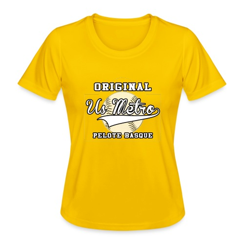 origiinalUSMETRO2 png - T-shirt sport Femme