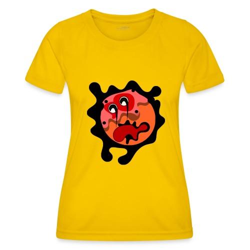 scary cartoon - Functioneel T-shirt voor vrouwen