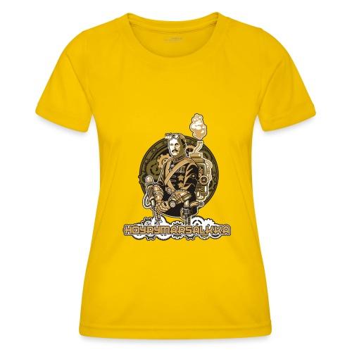 Höyrymarsalkkan perinteinen t-paita - Naisten tekninen t-paita