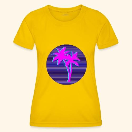 Florida palmtree - T-shirt sport Femme
