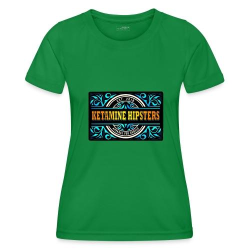 Black Vintage - KETAMINE HIPSTERS Apparel - Women's Functional T-Shirt