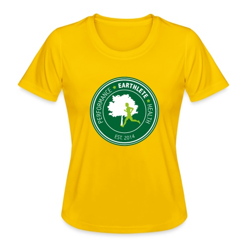 EARTHLETE Brand Logo - Funktionsshirt til damer