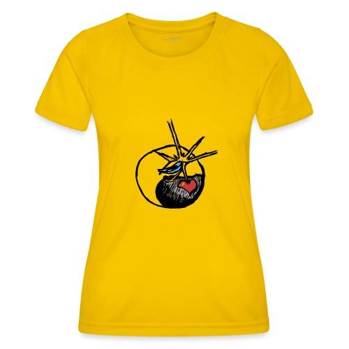 Mindfackt logo - Naisten tekninen t-paita