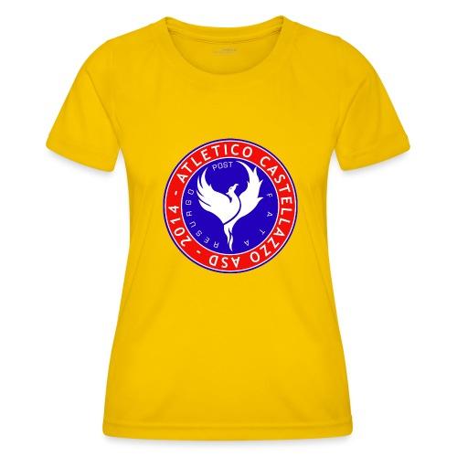 Atletico Castellazzo Logo Ufficiale - Maglietta sportiva per donna