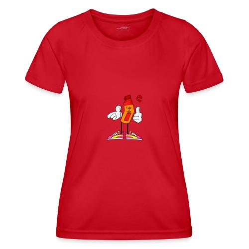 Drip N Drop - Maglietta sportiva per donna