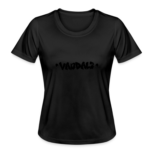 Vandalz Black - Maglietta sportiva per donna