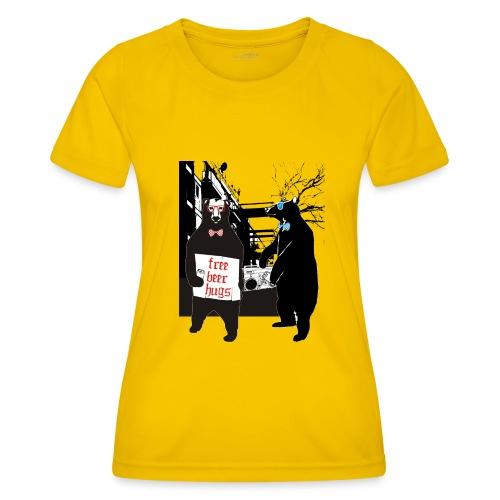 BEER BEARS - Naisten tekninen t-paita