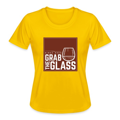 Grabtheglass LOGO - Frauen Funktions-T-Shirt