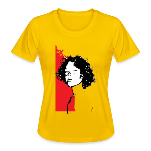 L'enfant rouge représente la terre rouge d'Afrique - T-shirt sport Femme