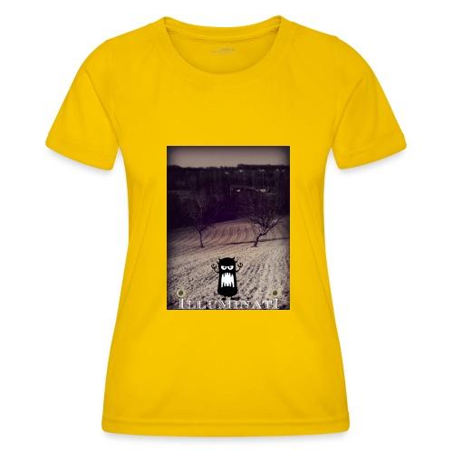 illuminati - T-shirt sport Femme
