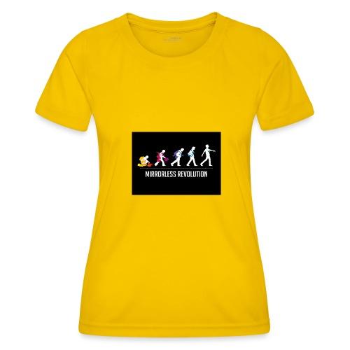 mirrorless evolution - Camiseta funcional para mujeres