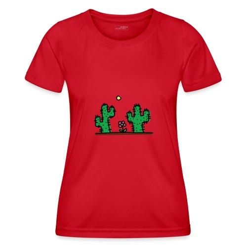 Cactus - Maglietta sportiva per donna