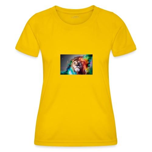 hero lion - T-shirt sport Femme