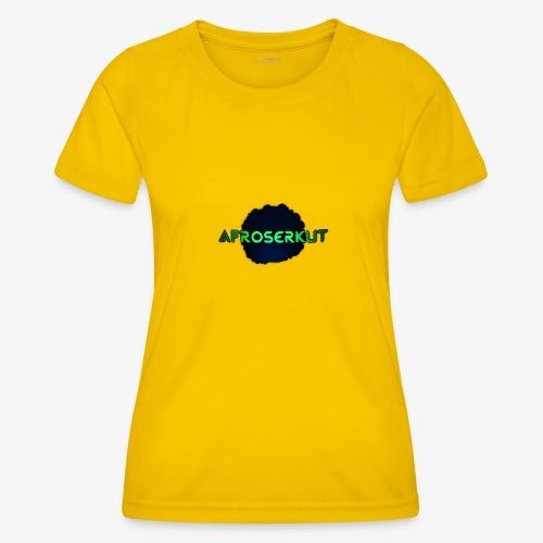 AfroSerkut LOGO - Naisten tekninen t-paita
