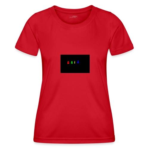 Gaiz - Maglietta sportiva per donna