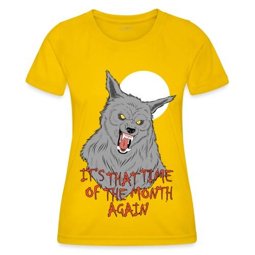 That Time of the Month - Funkcjonalna koszulka damska