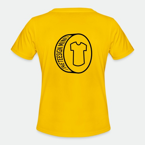 Teesign Mint Tshirt FA 5 - Women's Functional T-Shirt