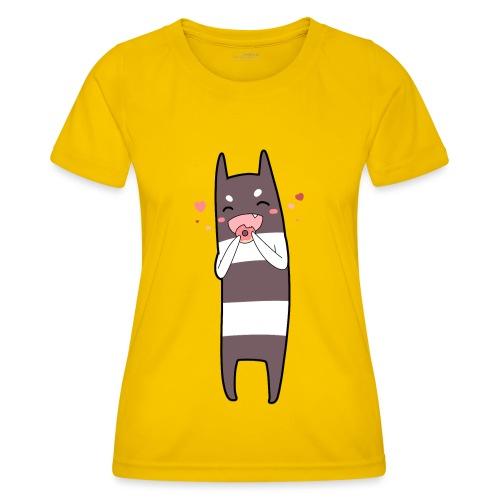 Donut Monster - Women's Functional T-Shirt