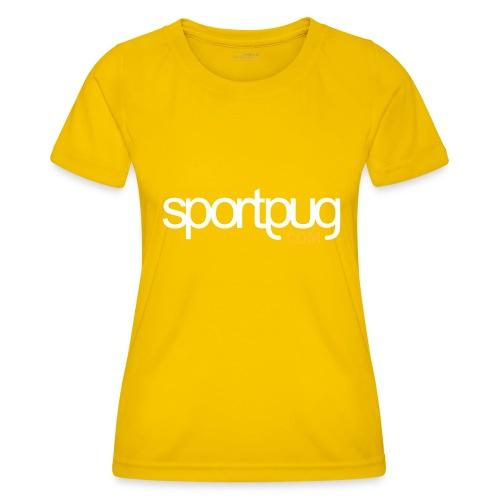 SportPug.com - Naisten tekninen t-paita