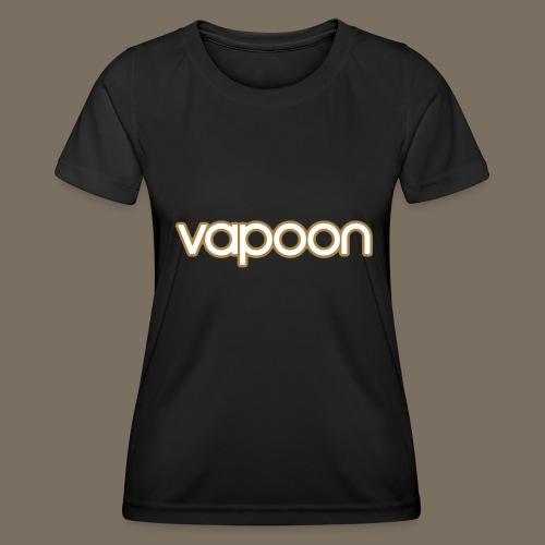 Vapoon Logo simpel 2 Farb - Frauen Funktions-T-Shirt