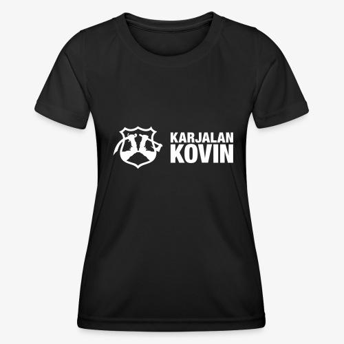 karjalan kovin vaaka - Naisten tekninen t-paita