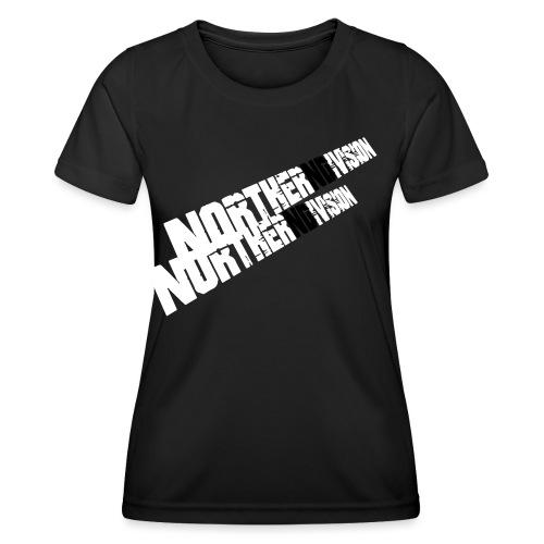nd badg 2vari perspective - Naisten tekninen t-paita