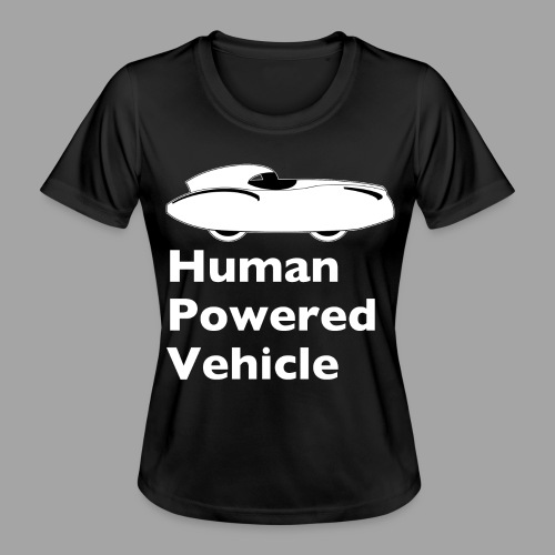 Quattrovelo Human Powered Vehicle white - Naisten tekninen t-paita