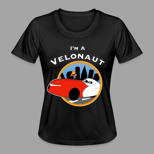 Im a velonaut - Naisten tekninen t-paita