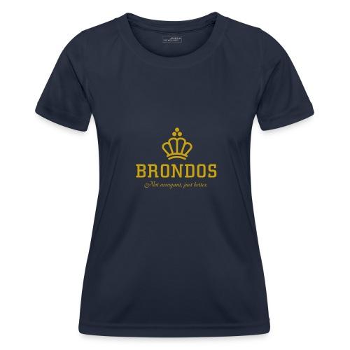 Brondos - Naisten tekninen t-paita