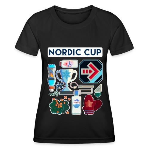 Nordic 2018 - Naisten tekninen t-paita