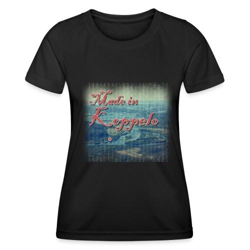 Made in Koppelo lippis - Naisten tekninen t-paita